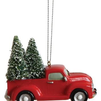 Creative Co-Op Truck Ornament | Nordstrom