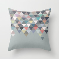 Nordic Combination 20 Throw Pillow by Mareike Böhmer Graphics