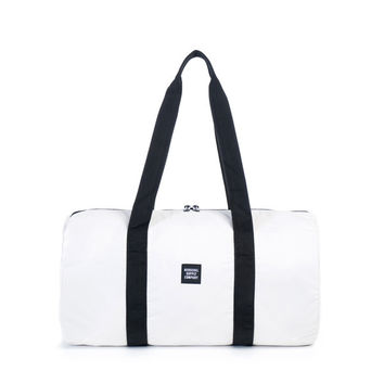 Herschel Supply Co. Packable Duffle Reflective White