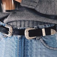Leather Vintage Belt