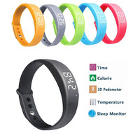 Original Smart Bracelet W5 Wristband Fitness Waterproof Sport Tracker Pedometer Smart Band For IOS Iphone Android Samsung 8963