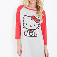Hello Kitty Baseball Tee Nightdress