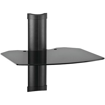 Omnimount Tria1b 1-shelf Wall Furniture System (black)