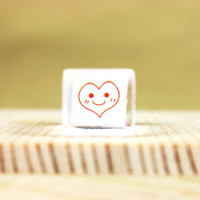 Smile Heart Stamp