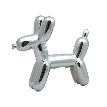 Made by Humans Balloon Dog Bank - Silver