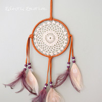 Free Spirit Native American Dream Catcher with Doily