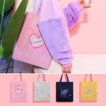 Pink Motel Harajuku Shoulder Travel Bag