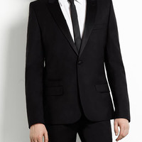 Black 'Niven' Tux Suit - Skinny Fit Suits - Men's Suits - Suits - TOPMAN
