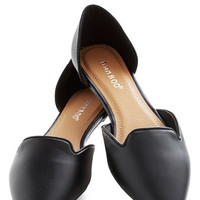 Flats Amore! in Black