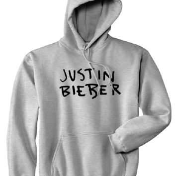 [Justin bieber] hooded sweater sweater