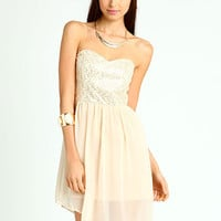 Sparkle Chiffon Dress