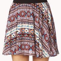 Explorer Tribal Print Skirt
