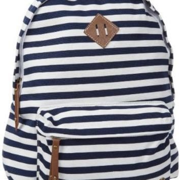 Madden Girl Bskool Backpack,Stripes,One Size