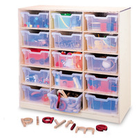 Whitney Brothers 15 Tray Storage Cabinet WB0915T