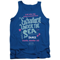 BACK TO THE FUTURE/UNDER THE SEA - ADULT TANK - ROYAL - LG - ROYAL -