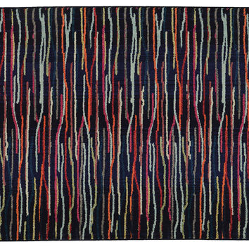 Expressions Rug,  Midnight/Multi, Area Rugs