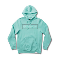 Boxed In Pullover Hood in Diamond Blue