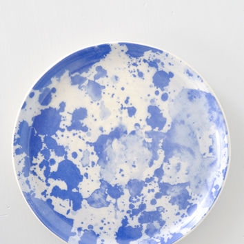 Watercolor Plate - Blue