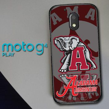 Alabama Crimson Tide X3309 Motorola Moto G4 Play Case