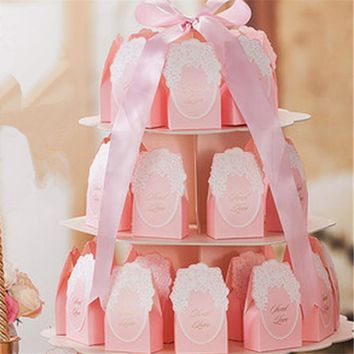pcs  Sweet  Wedding  Favor  Flower  Candy  Wedding