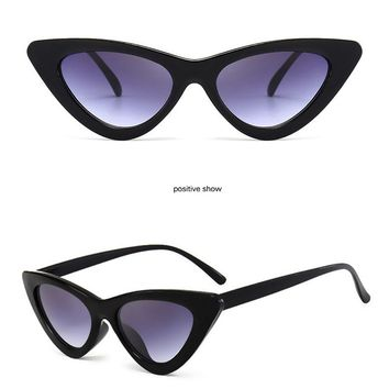 Small Cat Eye Vintage Sunglasses