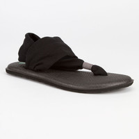 Sanuk Yoga Sling 2 Womens Sandals Black  In Sizes