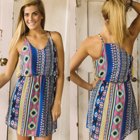 Flow With It Dress - Piace Boutique