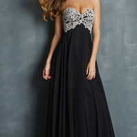 Strapless Prom Gown by Night Moves