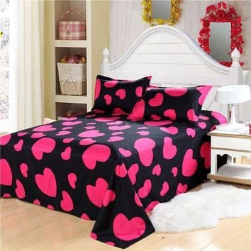 bedding sets 3pcs/4pcs twin full queen star starry sky duvet cover set bedclothes polka dot red black yellow