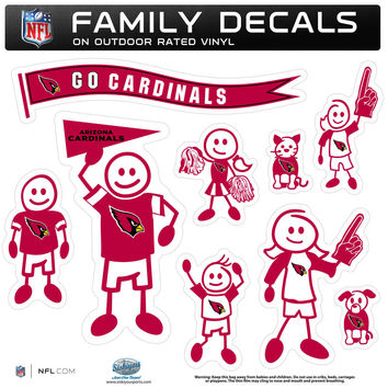 NFL Team Family Decal Set Large