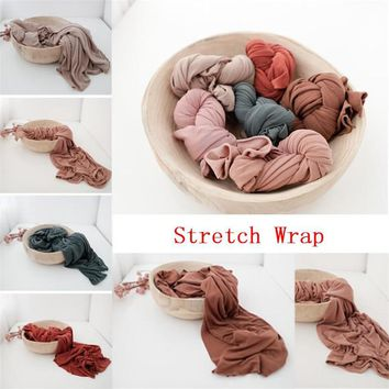 Super Comfortable Newborn Stretch Wrap Swaddle Baby Photography Blankets Newborn Shooting Baby Basket Filler New born Baby Pic