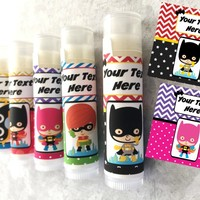 Superhero Custom Lip Balm | Free Customization