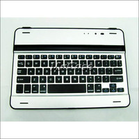 Aluminum Bluetooth Wireless Keyboard For Tablet PC Mac iPad Air 2 iPad 6 Keyboards