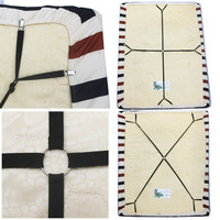 Crisscross Adjustable Bed/Fitted Sheet Straps Suspenders Gripper/Holder/Fastener - NO BED SHEET
