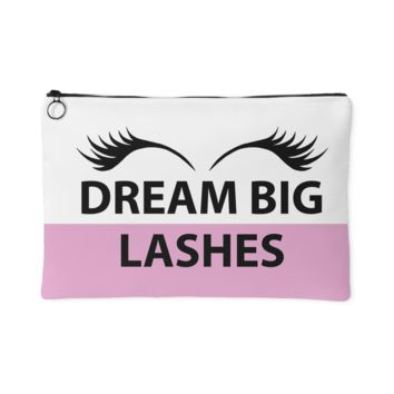 Dream Big Lashes Makeup Bag