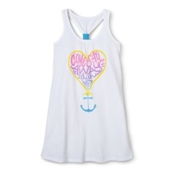 Girls' Anchor Cover Up Dress