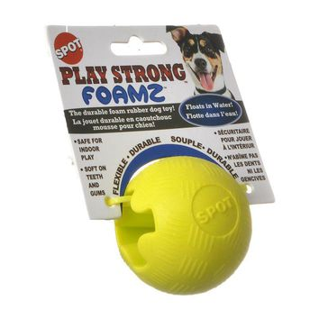 Play Strong Foamz Dog Toy - Ball