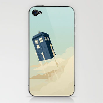 Time to Fly iPhone & iPod Skin by Danny Haas | Society6