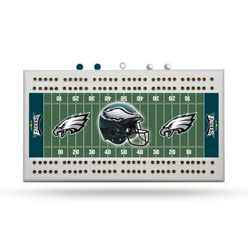 PHILADELPHIA EAGLES FIELD CRIBBAGE BOARD