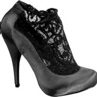 Wild Diva Satin Lace Bootie JSPLOSIVE11 | Clearance