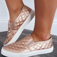 So Fresh Sneakers: Rose Gold
