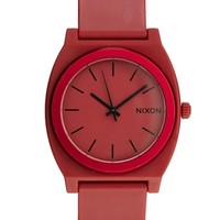 Nixon Time Teller Red Watch A119 - Red