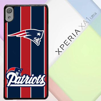 New England Patriots X3219 Sony Xperia XA1 Ultra Case