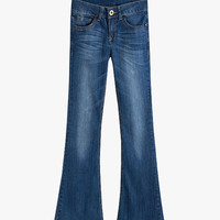Low Rise Bell Bottom Jeans