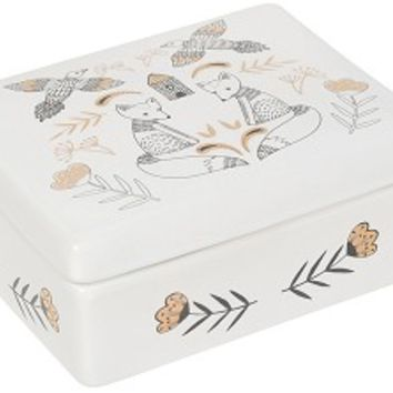Ceramic Trinket Box - Wild Tale
