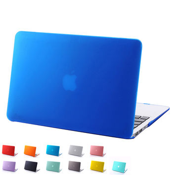 Fashion Frosted Surface Matte Case Cover display logo For Macbook Air 11'' 13'' Pro 13'' 15'' Pro Retina 13'' 15'' Cool