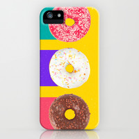 Donuts iPhone & iPod Case by Danny Ivan