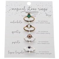 Magical Stone Ring Set
