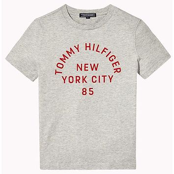 Tommy Hilfiger Children Boy Girl Casual Shirt Top Tee