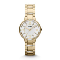 Virginia Gold-Tone Stainless Steel Watch
